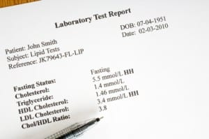 Cholesterol Laboratory Report