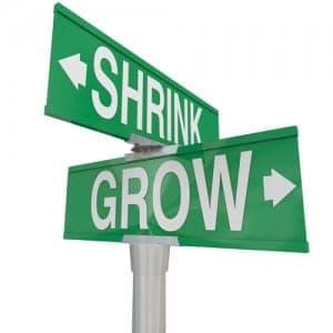 shrink:grow
