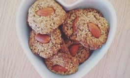 Crunchy Almond Chia Cookies