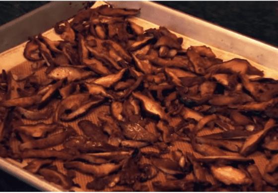 Shiitake Bacon/Crispy Mushrooms