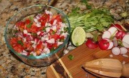 Chimol (A Salvadoran Radish Salsa)