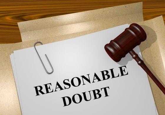 Reasonable doubt still matters